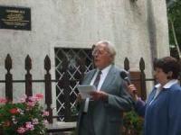 Emléktábla került az Udvarbíró házra