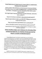 1. oldal a levélből